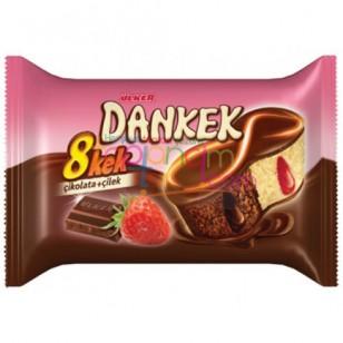 Ülker Dankek 8 Kek Çikolata+Çilek 24 Adet