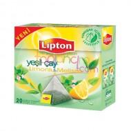Lipton Limonlu Yeşil Çay 20 Li * 12 Paket