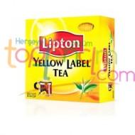 Lipton Bardak 100 Lu Yellow Label*1 Adet