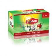 Lipton Elmalı Yeşil Çay 20 Li * 12 Paket